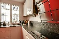 nice kitchen appliances in Passy - Trocadero I luxury apartment