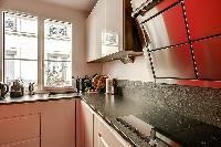nice kitchen appliances in Passy - Trocadero I luxury apartment