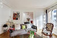 chic furniture in Passy - Trocadero I luxury apartment
