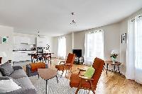 minimalist 2-bedroom Paris luxury apartment