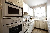 kitchen kitchen appliances in Trocadero - Sablons luxury apartment