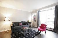 awesome parlor with balcony at Trocadero - Sablons luxury apartment