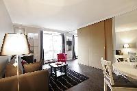 nice interiors of Trocadero - Sablons luxury apartment