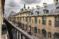 street view from a 3-bedroom Paris luxury apartment