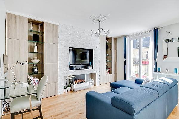 a 2-bedroom paris luxury apartment with spacious living space