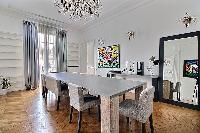 bright and breezy Trocadero - Georges Mandel luxury apartment