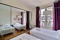 fully furnished Ternes - Wagram luxury apartment and vacation rental