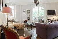 charming 3-bedroom Paris luxury apartment with a large living area