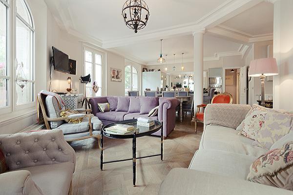 gorgeous 3-bedroom Paris luxury apartment