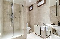 clean and fresh bathroom in Trocadéro - Poincaré 3 Bedrooms II luxury apartment
