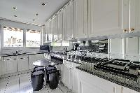 cool modern kitchen in Trocadéro - Poincaré 3 Bedrooms II luxury apartment