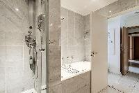nice and neat toilet and bath in Trocadéro - Poincaré 3 Bedrooms II luxury apartment