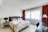 clean and fresh bedding in Trocadéro - Poincaré 3 Bedrooms II luxury apartment