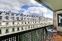 amazing balcony of Trocadéro - Poincaré 3 Bedrooms II luxury apartment