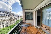 cool deck of Trocadéro - Poincaré 3 Bedrooms II luxury apartment
