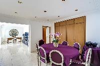 awesome dining room of Trocadéro - Poincaré 3 Bedrooms II luxury apartment