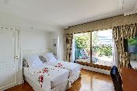 nice bedroom with balcony at Trocadero - Poincaré 2 bedrooms luxury apartment