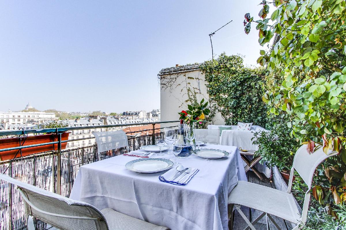 Saint Germain Des Prés Penthouse View