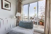 generous windows of Saint Germain des Prés - Penthouse View luxury apartment