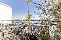 cool terrace of Saint Germain des Prés - Penthouse View luxury apartment