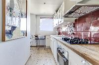 cool kitchen of Saint Germain des Prés - Penthouse View luxury apartment