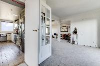 neat interiors of Saint Germain des Prés - Penthouse View luxury apartment