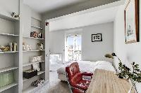 pleasant bedroom in Saint Germain des Prés - Penthouse View luxury apartment
