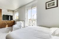 clean bed sheets in Saint Germain des Prés - Penthouse View luxury apartment