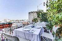 amazing balcony of Saint Germain des Prés - Penthouse View luxury apartment