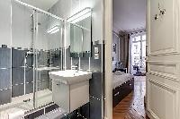 en-suite bathroom in a 2-bedroom Paris luxury apartment