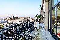 beautiful view from the balcony of Trocadero - Mandel 4 bedrooms luxury apartment