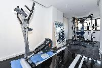 awesome gym room and fitness hub in Trocadero - Mandel 4 bedrooms luxury apartment