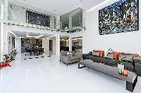 fully furnished Trocadero - Mandel 4 bedrooms luxury apartment