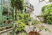 awesome garden of Trocadero - Sheffer luxury apartment