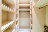 plenty of closets in a 3-bedroom Paris luxury apartment