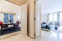 contemporary stylish spacious  3-bedroom 2-bathroom Paris luxury apartment