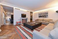interior distinctly elegant furniture and furnishings in paris luxury apartment