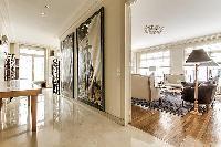 spacious and elegant sitting area paris luxury apartment