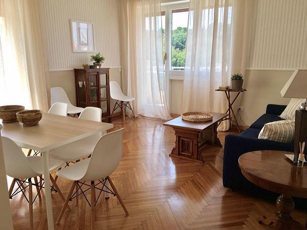 beautiful Rome Vatican III luxury apartment and holiday home