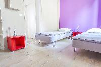 cool twin bedroom in Cannes - Barri luxury apartment