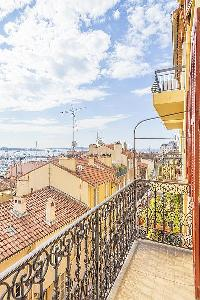 pretty balcony of Cannes - Barri luxury apartment