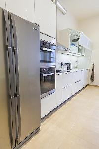 cool modern kitchen of Cannes - Carnot luxury apartment
