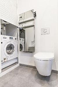 cool lavatory and utility area in Cannes - Church (Eglises) luxury apartment