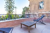 awesome terrace of Cannes - Palm Eden luxury apartment
