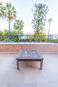 cool balcony of Cannes - Palm Eden luxury apartment