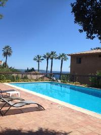 cool swimming pool of Cannes - Palm Eden luxury apartment