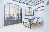 awesome glass ceiling of Cannes - Palm Eden luxury apartment