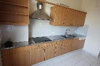 furnished kitchen of Cannes - Les Dunes luxury apartment