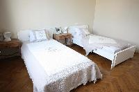 nice twin bedroom of Cannes - Les Dunes luxury apartment