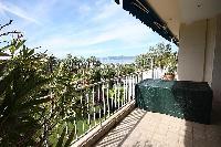 cool terrace of Cannes - Les Dunes luxury apartment